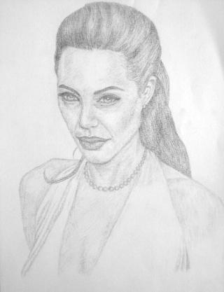 Angelina Jolie by cristina_zlatan